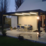 Pergola Brustor avec option LED