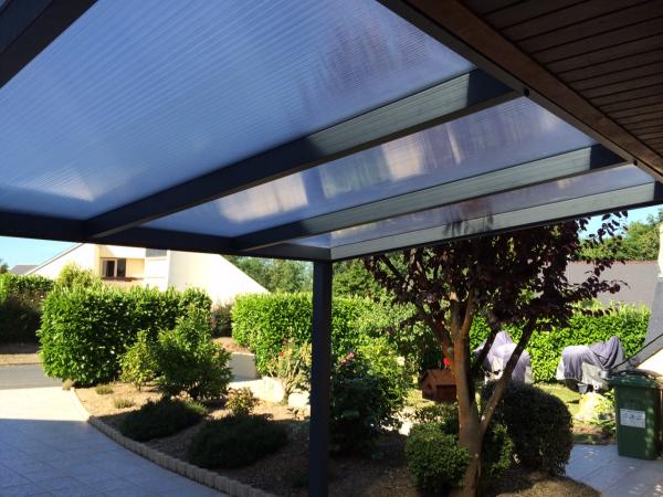 Pergola Oasis de verre Caen et Calvados - Logikinov, fenêtres ...